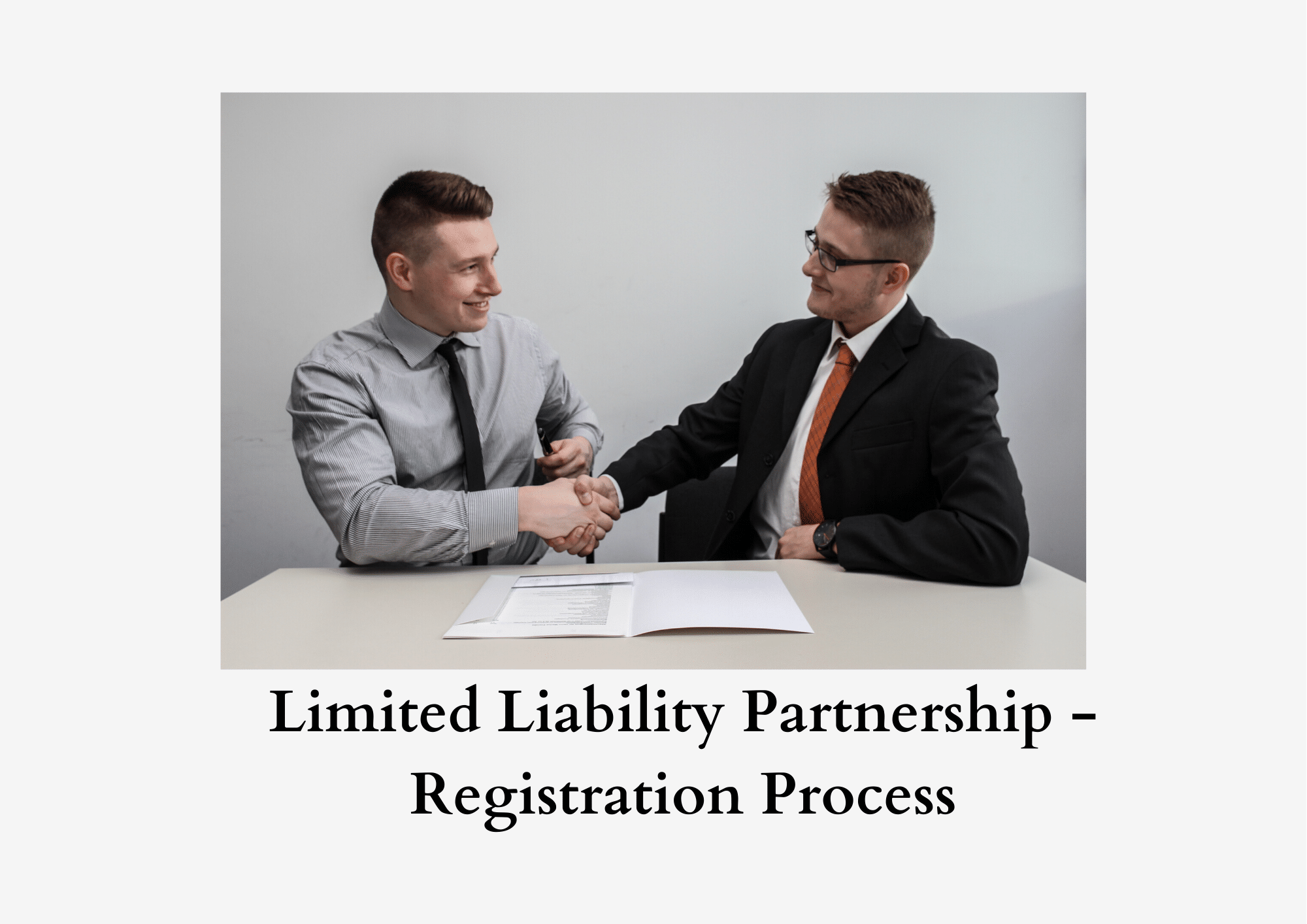 Process of LLP registration